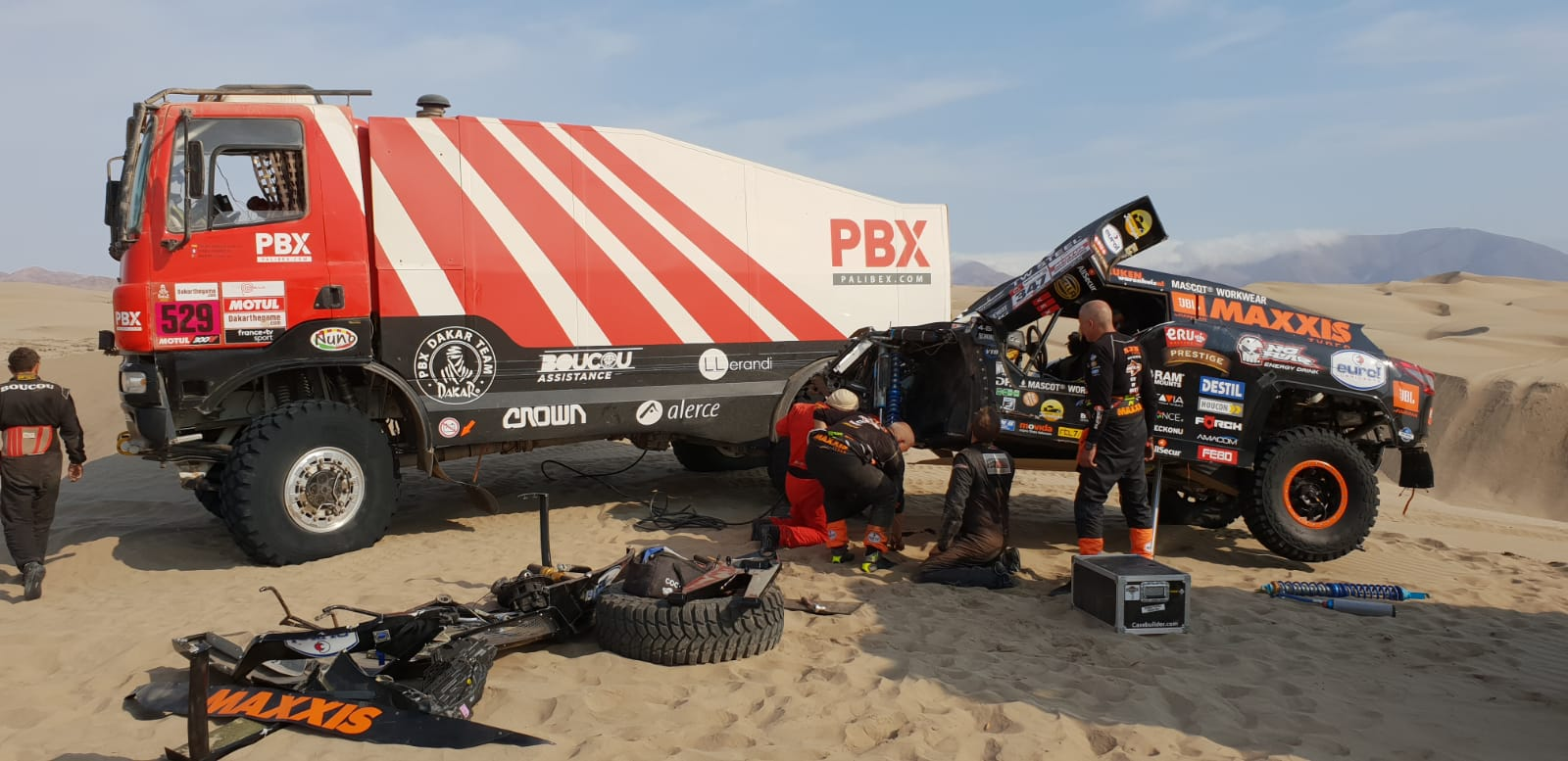 Equipo Coronel Dakar-PBX Dakar Team