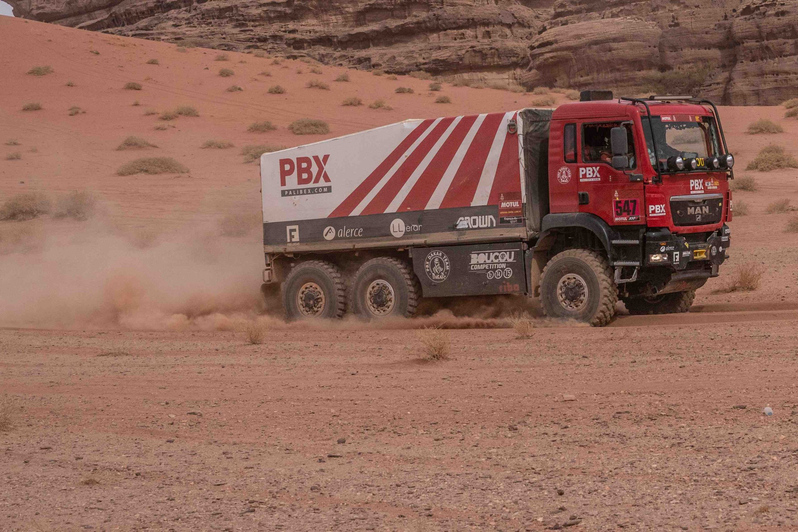 pbx dakar Team - dakar 2021 - decima etapa